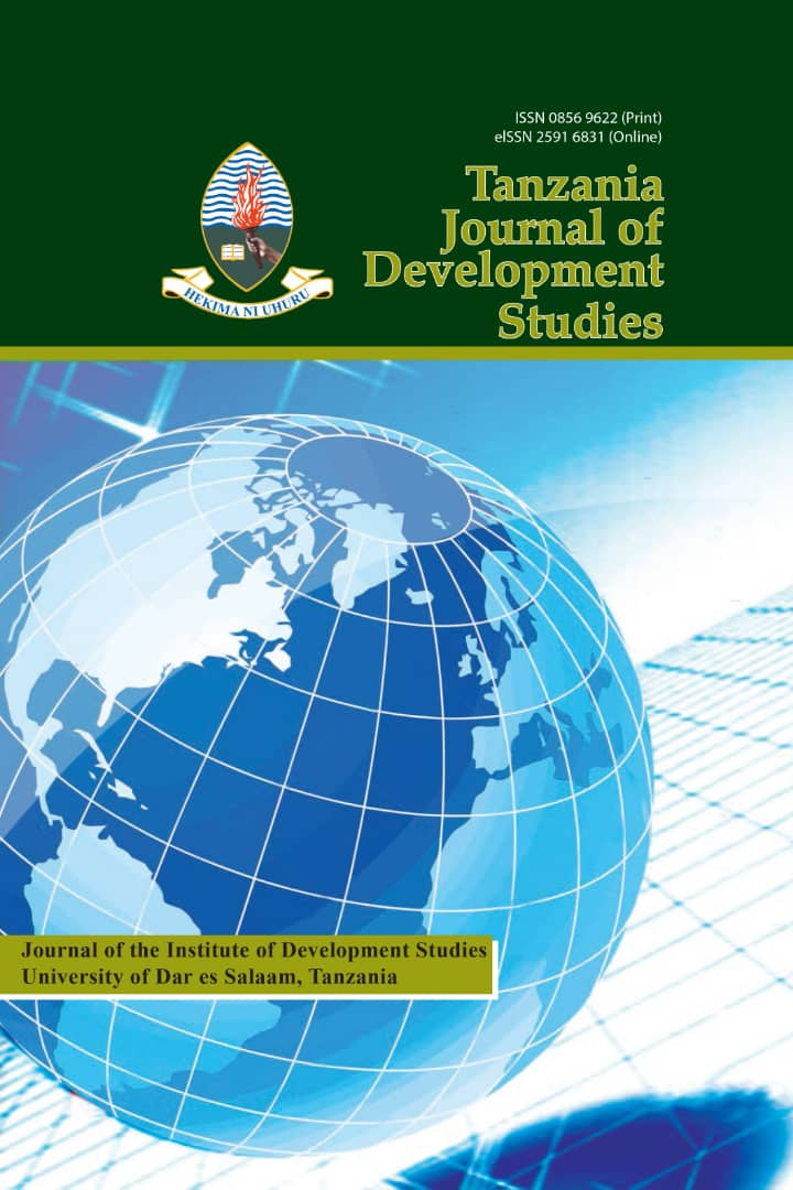 Tanzania Journal Of Development Studies