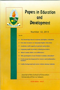Papers in Education and Development